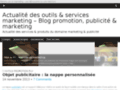 Détails : Blog promotion, publicité ; marketing